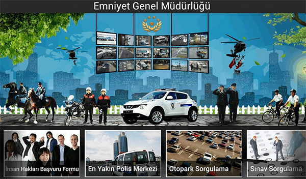 EGM Online İhbar Uygulaması Kullanımda