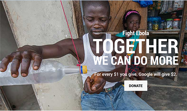 Google Ebola'ya Savaş Açtı