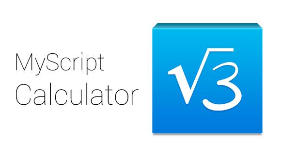 Haftanın Uygulama Önerisi MyScript Calculator