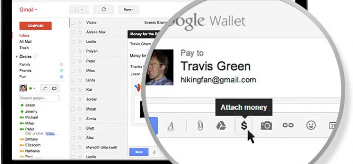 Gmail Üzerinden Para Transferi Aktif Oldu