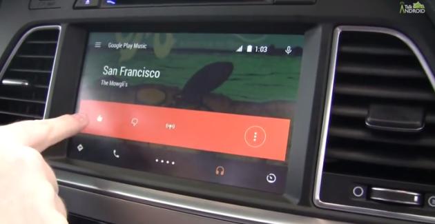 TuneIn Android Auto'ya Geldi