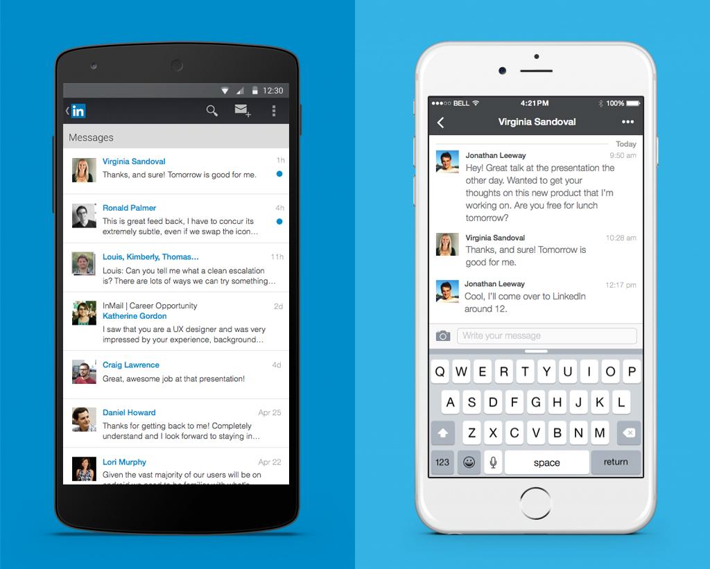 LinkedIn'den Anlık Mesajlaşma Servisi