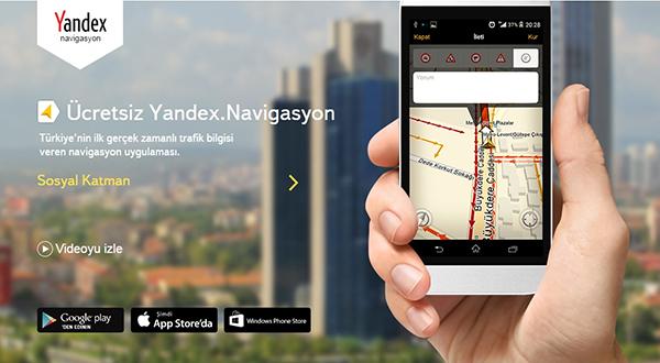 Yandex Navigasyon'a Sesle Kontrol Özelliği Geldi