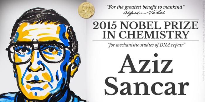 Aziz Sancar Kimya Alanında Nobel Ödülü Kazandı