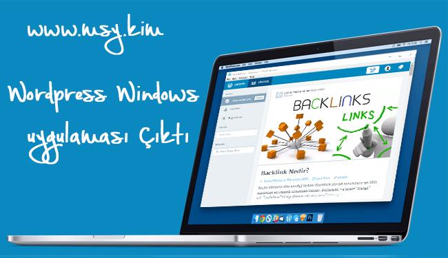 WordPress Uygulaması Windows İçin Yayınlandı