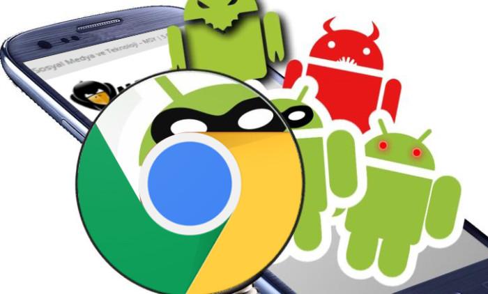 Android Tarayıcı Virüsü