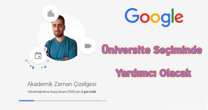 Google, Üniversite Seçiminde Yardımcı Olacak