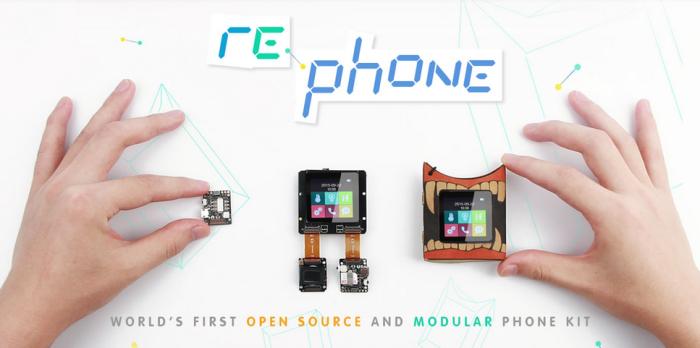 Dünyanın İlk Açık Kaynaklı Modüler Telefonu – RePhone