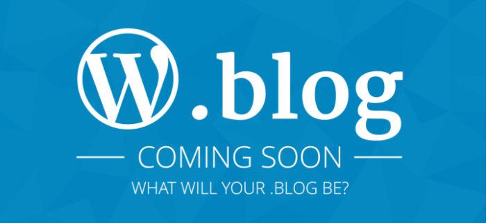 .blog Uzantılı Alan Adları Geliyor