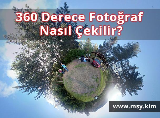 360 Derece Fotoğraf Çekebileceğiniz Uygulamalar