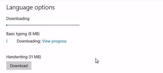 windows 10 dil ekleme