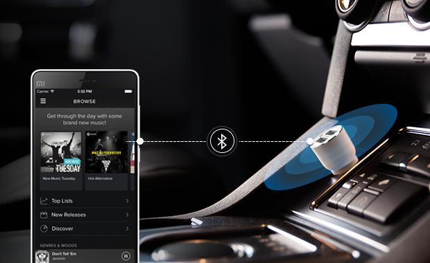 Xiaomi ROIDMI Bluetooth Fm Verici Ve Araç Şarj Adaptörü